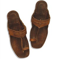 Unisex Groovy Hippie Costume Sandals (See Measurements - MED)