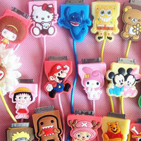 Cute Cartoon Style Mario USB Data Sync Charger Cable For iPhone 4 4s iPhone 5 5g