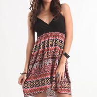 Kirra Native Print Dress - PacSun.com