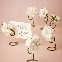 Petaled Place Card Holders (6)