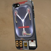 Flux Capacitor Back To Future - NRT - iPhone 5 case Black/White Case
