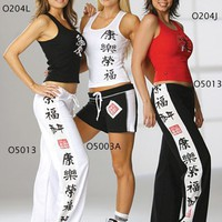 Womens Otomix O5013 Martial Arts Workout Pant.