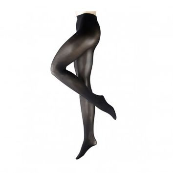 FALKE PURE MATT 50 BLACK TIGHTS