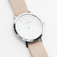 The Horse Silver/Natural Band Watch