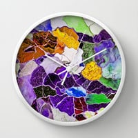 MOSAIC Wall Clock by catspaws
