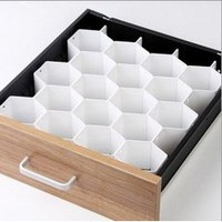 Honeycomb Drawer Organizer Storage Divider Socks Underwear Arts & Crafts Desk