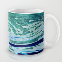 OCEAN ABSTRACT 2 Mug by catspaws