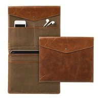 Expedition Leather RFID-Safe Electronics Folio, iPad Size