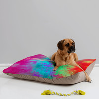"Caleb Troy Painted Clouds Vapors II Pet Bed - 40"" x 30"""