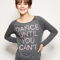 Dance Until You Can't