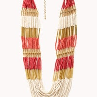Eclectic Beaded Necklace