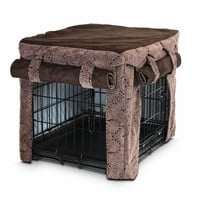 Snoozer Cabana Pet Crate Cover, X-Large, Amulet