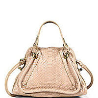 Chloé - Paraty Medium Python Tote - Saks Fifth Avenue Mobile