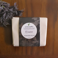 Elusive Cold Process Goat Milk Soap - Intoxicating, Addicting, Sensual, Exotic. Frankincense/Rosewood/Cedarwood pure essential oils Body bar