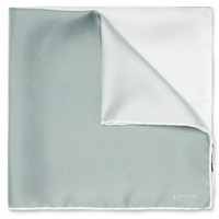 Lanvin - Four-Tone Silk Pocket Square | MR PORTER