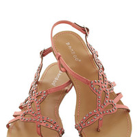 That Girly Glimmer Sandal | Mod Retro Vintage Sandals | ModCloth.com