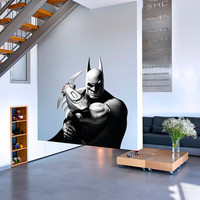 Batman The Dark Knight Decal - Heroes, Super heroes Printed and Die-Cut Vinyl Apply in any Flat Surface- Batman Dark Knight Wall Art Decor