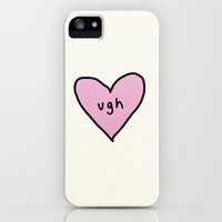 Heart - 1 iPhone & iPod Case by Alyssa Taylor
