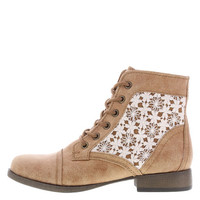 Women's Crochet Mountain Lace-Up Boot
