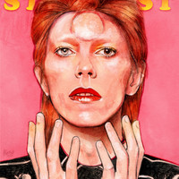 Ziggy Art Print by Helen Green