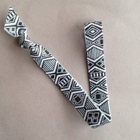 "The Aztec 5/8"" Elastic Headband by Elastic Hair Bandz"