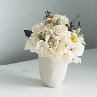 Blanca- dried flower arrangement