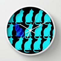 CATTERN Wall Clock by catspaws