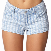Must Have Tribal Print Denim Shorts