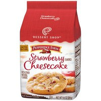 Pepperidge Farm Dessert Shop Strawberry Cheesecake Cookies