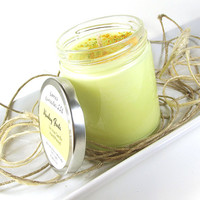 "Scented Soy Candle - Monkey Farts ""Fluorescent"" Soy Candle -- 8 ounce Jar"