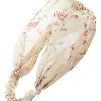 Lulu Floral Head Wrap (Juniors) | Nordstrom