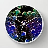 NATURAL LACE Wall Clock by catspaws