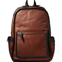 Marc By Marc Jacobs Out of Bounds Leather Backpack – Brown Backpack - ShopBAZAAR