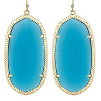 Danielle Earrings in Azure - Kendra Scott Jewelry