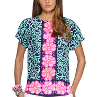 Marion Short Sleeve Top - Lilly Pulitzer