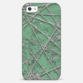 Sparkle Net Mint iPhone & iPod case by projectm | Casetagram