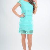 Way You Look Tonight Dress: Mint