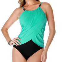 Magicsuit Solids Lisa Shaping One-Piece Swimsuit Swimwear 475655 at BareNecessities.com
