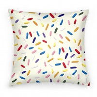 Sprinkle Pillow (Vanilla)