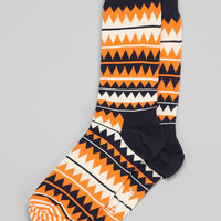 Happy Socks Zigzag Sock - Urban Outfitters