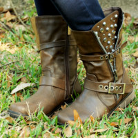Love On The Rocks Boots: Chocolate | Hope's