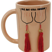 Old, But Still Swinging Mug