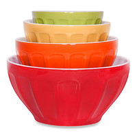 4-Piece Nesting Mixing Bowls in Assorted Colors