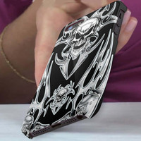 robot skull decal 3D iPhone Cases for iPhone 4,iPhone 4s,iPhone 5,iPhone 5s,iPhone 5c,Samsung Galaxy s3,samsung Galaxy s4