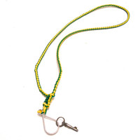 Green Bay Packer Inspired Rexlace Lanyard Keychain