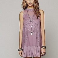 Free People Womens FP ONE Angel Lace Dress -
