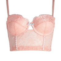 Hopeless Romantic Corset Bra