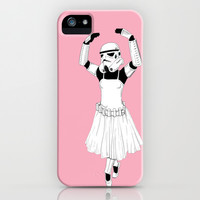 Ballerinatrooper iPhone & iPod Case by Cisternas