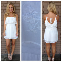 White Vintage Betty Dress