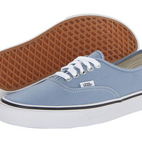 Vans Authentic™ Faded Denim/True White - Zappos.com Free Shipping BOTH Ways